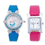 Shostopper Vintage Collection Combo Watches For Womens (product Code - Sj185wcb)