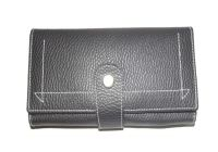 Pe Womens Designer Pu Leather Black Wallet