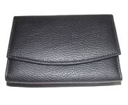 Pe Womens Fashionable Black Pu Leather Wallet