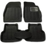 Mp-black Colour-3d Car Floor Mats Perfect Fit For Tata Nano