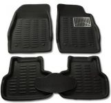 Mp-black Colour-3d Car Floor Mats Perfect Fit For Ford Fiesta