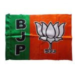 Bjp Outdoor Silk Flag By Sheela Ad Makers