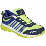 Bachini Blue Green Sport Shoes For Men (product Code - 1607-blue Green)