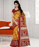 Wama Fashion Bhagalpuri Silk Saree With Blouse (code - Tz_1089_b)
