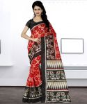Wama Fashion Bhagalpuri Silk Saree With Blouse (code - Tz_1089_d)