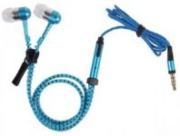 Charzon Zipper Earphones (blue)