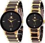 New Iik Collection Couple Watch 013m-1002w Luxury Analog Watch - For Men, Women, Boys, Girls