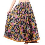 Vivan Creation Shree Mangalam Mart Multicolor Printed Skirt Free Size (product Code - Smskt639)