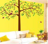 Decals Arts Beautiful Tree 2 Sheet Wall Stickers