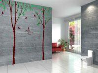 Decals Arts Tree Leaf Bird Wall Sticker 3 Sheet