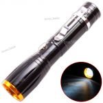 Zoom Long Beam Cree Rechargeable LED Waterproof Flashlight Light Torch