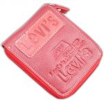 Mens Gents Leather Wallet Credit Business Card Holder Case Money Bag Purse Red-06