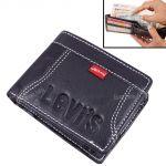 Mens Gents Leather Wallet Credit Business Card Holder Case Money Bag Purse Black-03