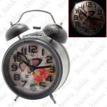 Exclusive Fashionable Analog Gift Table Wall Desk Self Clock Watch With Alarm-85