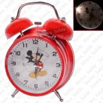 Exclusive Fashionable Analog Gift Table Wall Desk Self Clock Watch With Alarm-100