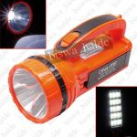 """""""onlite"""" Rechargeable 2 In 1 Torch Cum Portable Emergency Light With 15 Led/smd"""