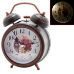 Exclusive Fashionable Analog Gift Table Wall Desk Self Clock Watch With Alarm-102