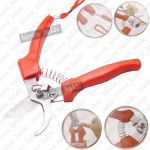 Garden Bypass Hand Pruner Scissors Cutter Bush Plant Flower Secateur Shear Tool-02