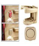 Spidy Moto Beige Beverage Drink Cup Bottle Mount Holder Stand - Mahindra Xuv500