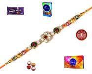 Rakhi Gift With Option Of Cadbury Celebrations (product Code - Mo24016)