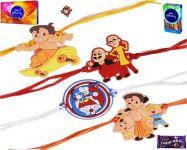 Kids Rakhi-choto Bheem & Motu Patlu & Doraemon Kids Rakhi (product Code - Mo4000)