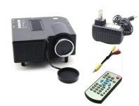 Crocon Uc 28 Mini Portable Multimedia Projector Connect With Hdmi/vga/av/usb/sd