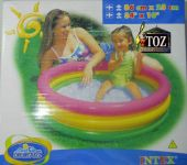 34 X 10(box) Intex Swimming Pool Baby Toys Inflatable Three Tier Kids Play