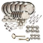 King-international-stainless Steel - Dinner Set Of 50pcs