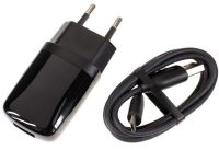 Infolink USB Wall Charger With Data Sync And Charger Cable For Htc Mobiles