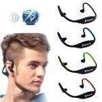 Ksj Sports Wireless Portable Universal Bluetooth Stereo Earphones