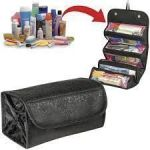 Travel Buddy 4 In 1 Roll N Go Cosmetic Bag Toiletry Organizer Jewellery