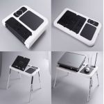 E Table E-table Cooling Pad Portable Laptop Stand With 2cooling Fans Etable