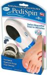 Gade Electronic Foot Callus Removal Pedi Spin Massager (white)