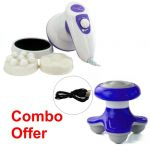 Czar Manipol Body Massager With Mini /mimo Massager
