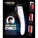 Nova Hair Trimmer Black For Mens Nhc - 3918