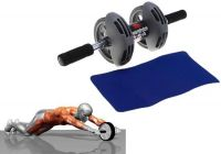 Home Basics Power Stretch Wheel Roller For Fitness Slim Body - Prstrl