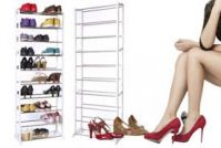 Home Basics Amazing Shoe Rack Portable With 10 Layer