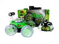 Home Basics Ben10 Chargeable Rc Stunt Car With LED Lights