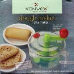 Home Basics Konvex Dual Purpose Dough Maker Vegetable Salad Cutter -atta,lassi,chappati