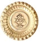 Pure Brass Pooja Thali / Aarti Plate For Puja