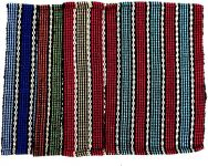 Peponi Polyester Small Door Mat Polly Cotton Door Mat (16x24)inch (multicolor, Peponi Multicolor Cotton Hand Woven Door Mat Set Of 3)