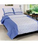 Elegance Cotton Double Bedsheet With 2 Pillow Cover (spice-5)