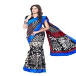 Vipul Branded Designer Bhagalpuri Silk Lace Border Catalog Saree(product Code)_11525