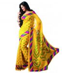 Anshika Lifestyle Beautiful Collection Of Cotton Silk Bhagalpuri Multicolor Printed Saree(code Bgl-002)
