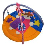 Little Innocent Colorful Smiley Girl Baby Play Gym
