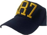 Embroidered Fashion Cr7 Blue Baseball Cap