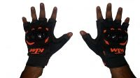 Ktm Half Finger Duke 390/rc390 Inspired Mx Motorcycle Racing Glove