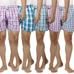 Boxers Pack Of 5 Assorted Colors By Inspire