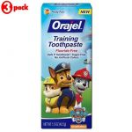 Orajel Training Toothpaste 42.5g - Paw Patrol (pack Of 3)