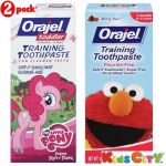 Orajel Training Toothpaste Combo (pack Of 2) - My Little Pony + Sesame Street